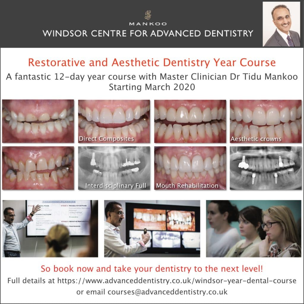 12 Day Course - Restorative Dentistry
